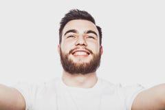 Happy selfie. Stock Photos