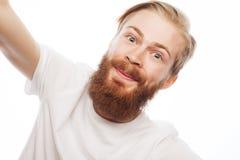 Happy selfie. Royalty Free Stock Image