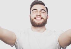 Happy selfie. Stock Photography
