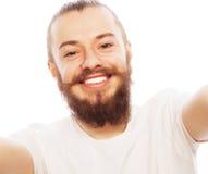 Happy selfie. Royalty Free Stock Photo