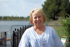 Happy Senior royalty free stock photos