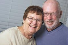 Happy Senior Adult Couple royalty free stock photo