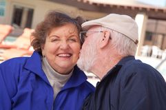 Happy Senior Adult Couple Royalty Free Stock Images