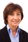 Happy senior businesswoman Royalty Free Stock Photo