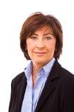 Happy senior businesswoman Royalty Free Stock Image