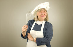 Happy Senior Chef Royalty Free Stock Photo