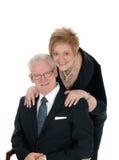 Happy senior citizen couple. Stock Photography