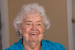 Happy Senior Citizen woman Royalty Free Stock Photo