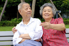 A happy senior couple Stock Photography