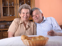 Happy senior couple Stock Photo