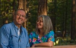 Happy senior couple Royalty Free Stock Photo