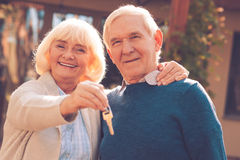 Free Happy Senior Couple. Stock Photo - 62037850