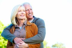 Happy senior couple. Royalty Free Stock Image