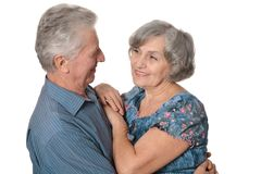 Happy senior couple Royalty Free Stock Image