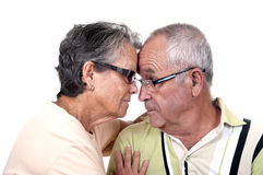 Happy Senior Couple Royalty Free Stock Photography