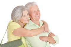 Happy senior couple Stock Photography