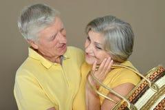 Happy senior couple Stock Photo