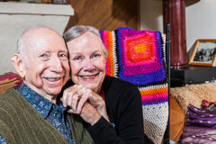 Happy Senior Couple Stock Photos