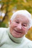 Happy senior lady Royalty Free Stock Photo
