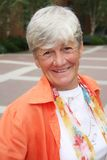 Happy senior lady Stock Image