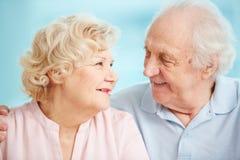 Happy senior life Stock Image