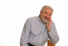 Happy Senior Man Stock Images