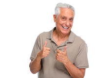 Happy senior man. Royalty Free Stock Image