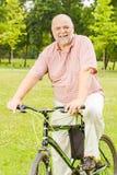 Happy senior man outdoor Stock Photography