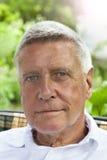 Happy Senior Man outdoor royalty free stock photo