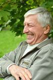 Happy senior man Royalty Free Stock Photography