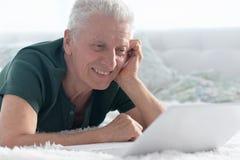 Happy senior man Royalty Free Stock Photo