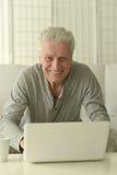 Happy senior man Royalty Free Stock Images