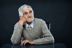 Happy senior man Royalty Free Stock Photo