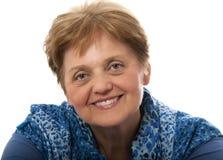 A happy senior woman Stock Image