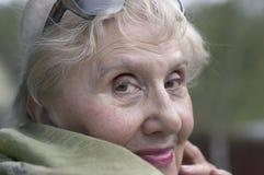 Happy Senior Woman Portrait Stock Photography