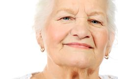 Beautiful grandma Royalty Free Stock Photography