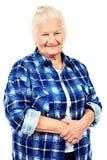 Joyful grandma Stock Image