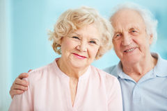 Happy seniors Royalty Free Stock Photos