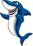 Happy shark Royalty Free Stock Photo