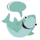 Happy shark Royalty Free Stock Image