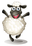 A happy sheep Royalty Free Stock Photo