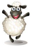 A happy sheep Royalty Free Stock Photo