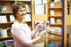 Happy Shop Owner Royalty Free Stock Photo