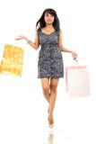 Happy shoping Royalty Free Stock Photography