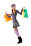 Happy shopper! Royalty Free Stock Photos
