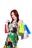 Happy shopper. Royalty Free Stock Photo