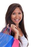Happy shopper Stock Photography