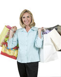 Happy shopper Royalty Free Stock Photography