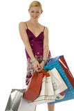 Happy Shopper! Stock Image
