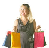 Happy shopper Stock Photos